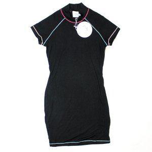 Princess Polly Carenza Mini SS Ribbed Dress